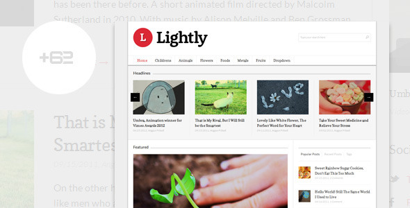 Lightly – Magazine WordPress Theme