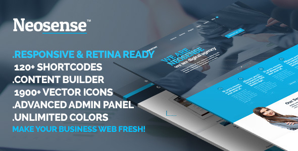 Neosense – Multipurpose WordPress theme