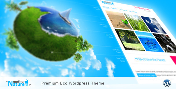 For Mother Nature 2 – Premium Eco WordPress Theme