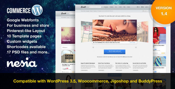 Commerce – Versatile & Responsive WordPress Theme