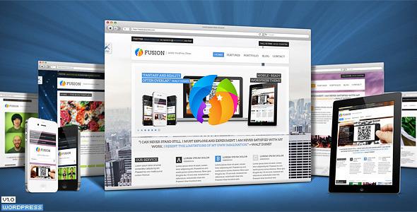 Fusion Responsive Premium WordPress Theme