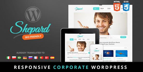 Shepard – Premium responsive corporate theme
