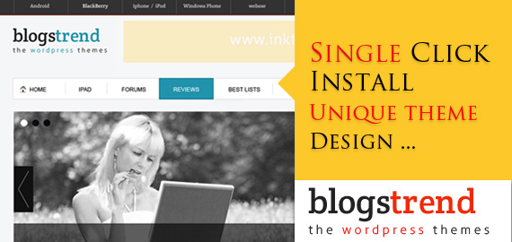 BlogsTrend Responsive WordPress Theme