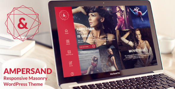 Ampersand – Multipurpose Masonry WordPress Theme