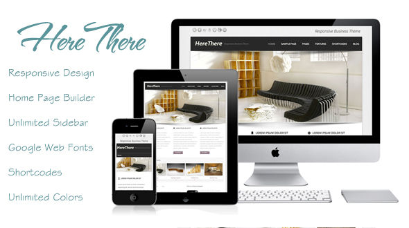 HereThere – Responsive WordPress Theme
