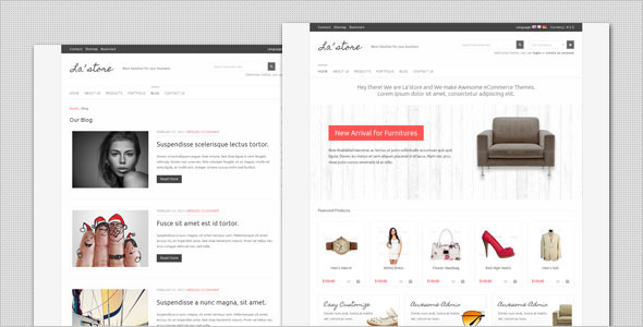 La Store – WooCommerce WordPress Theme