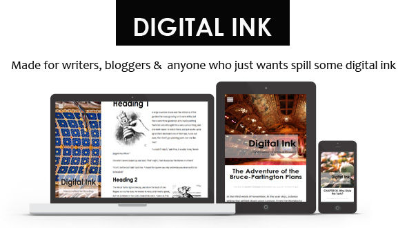Digital Ink – Premium WordPress Blogging Theme