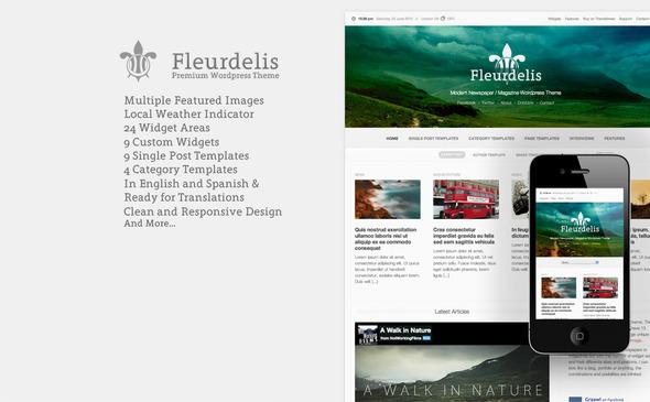 Fleurdelis – Modern Magazine Theme