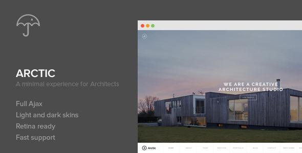 Arctic – Architecture & Creatives WordPress Theme