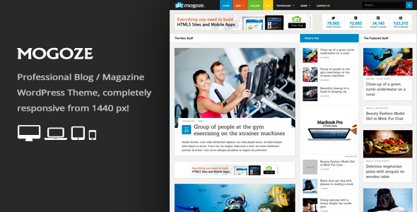 Mogoze – Responsive Magazine WordPress Theme