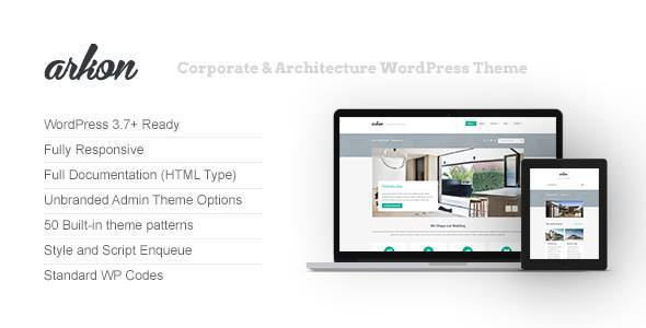 Arkon – Corporate & Architecture WordPress Theme