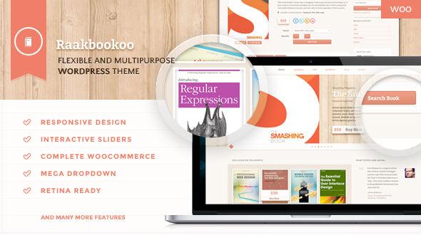 RaakBookoo – Book Store Responsive WooCommerce Theme