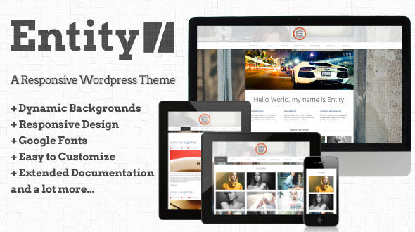 Entity – Responsive WordPress Theme