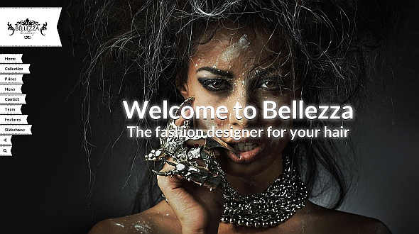 Bellezza – Beautiful WordPress Theme for Hairdressers