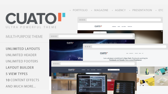 Cuato – Powerful Multi-Purpose WordPress Theme