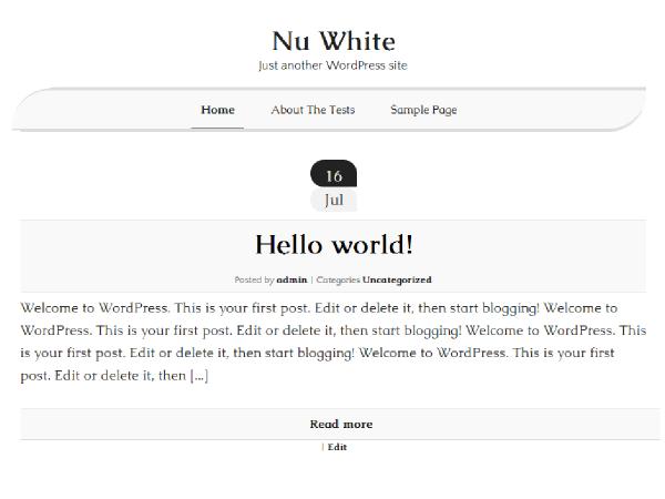Nu White