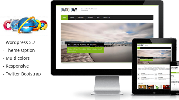 DaGoiDay WordPress Theme