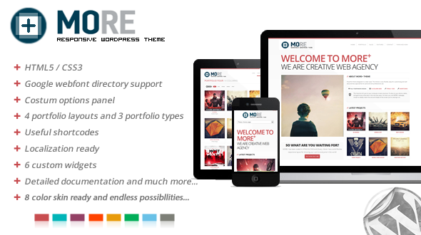 More+ Responsive WordPress Theme