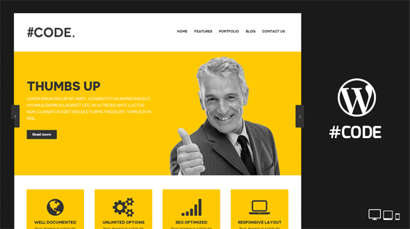 Code WordPress Theme