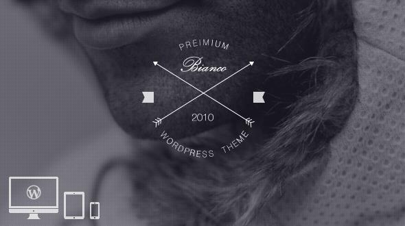 Bianco – Coming soon WordPress Theme