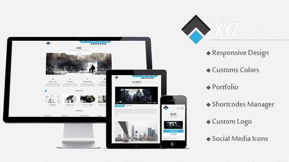 XYZ – Responsive Creative WordPress Theme