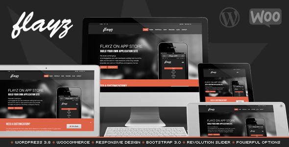 Flayz – Multipurpose WordPress Theme