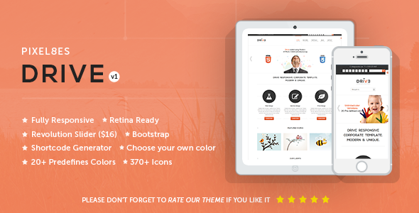 Drive – Multi-Purpose WordPress Theme