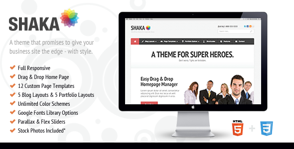 Shaka – Theme For Corporate Superheroes