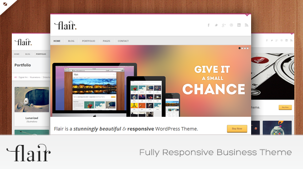 Flair – Responsive Business WordPress Theme