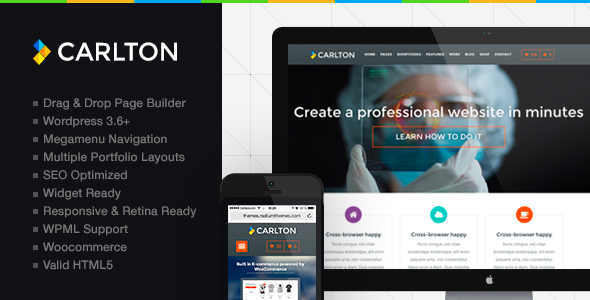 Carlton – A Powerful Multipurpose WordPress Theme