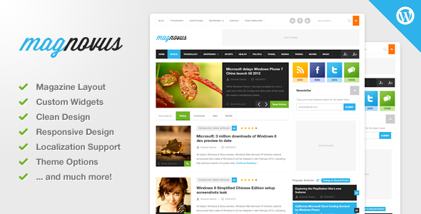 Magnovus – Magazine & News WordPress Theme