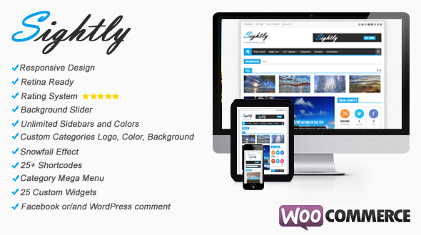 Sightly – Responsive News, Magazine and Blog WordPress Theme