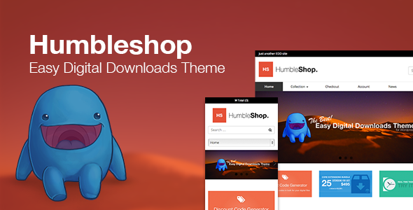 Humbleshop – Minimal Easy Digital Downloads Theme