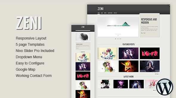 Zeni – WordPress Theme