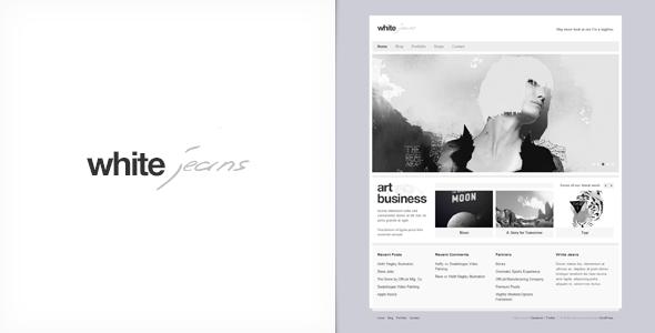White Jeans – Premium WordPress Theme