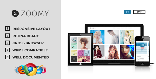 Zoomy – Professional Photography WordPress Theme