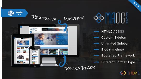 Maog – Cool & Responsive Magazine/Blog WP Theme