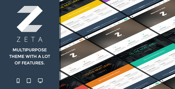 Zeta – MultiPurpose WordPress Theme