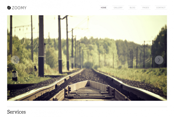 Zoomy – Photography WordPress Theme