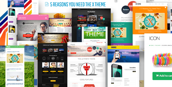 X – The Ultimate WordPress Theme
