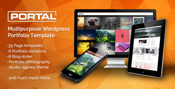 Portal – Multipurpose WordPress Portfolio Template