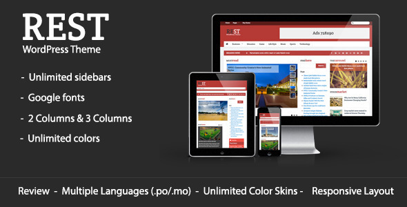 Rest – WordPress Blog & Magazine Theme
