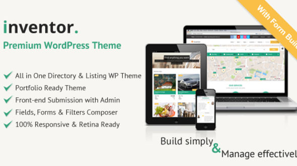 Inventor – Multipurpose WordPress Directory WordPress Theme