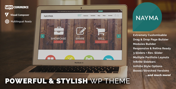 Nayma – Responsive Multi-Purpose WordPress Theme