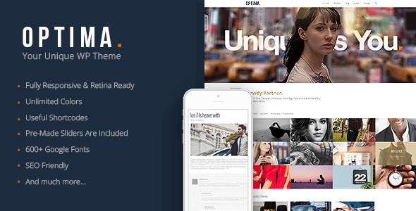 Optima – Responsive Agency WordPress Theme