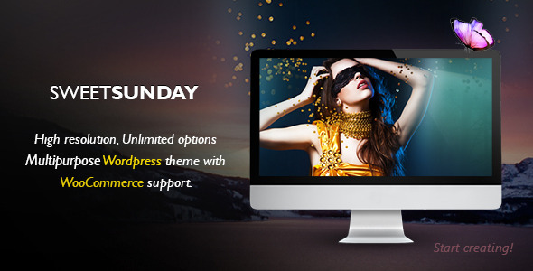 Sweet Sunday – Responsive WordPress Portfolio
