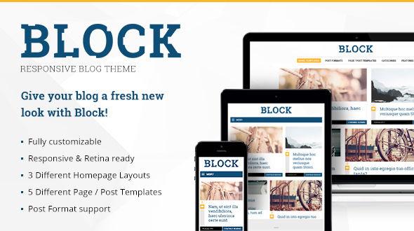 Block – Responsive WordPress Blog Theme