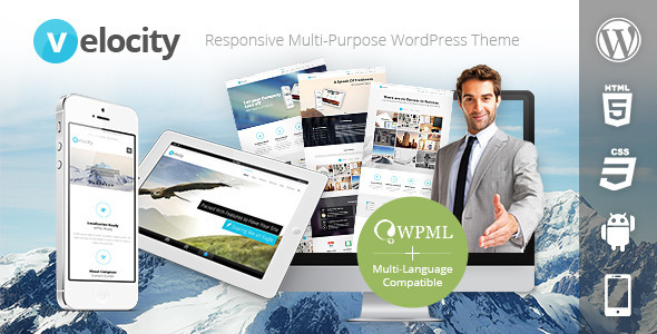 Velocity Responsive Multi-Purpose WordPress Theme