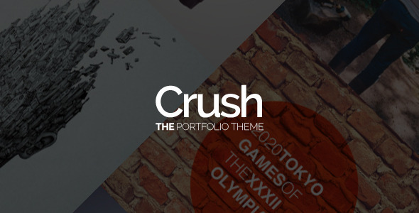 Crush – The Portfolio Theme
