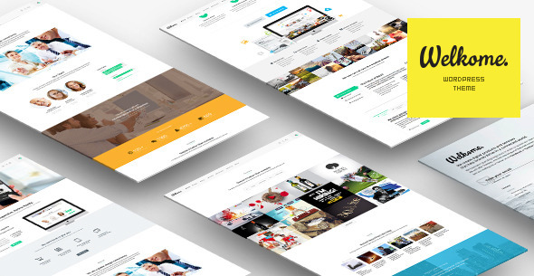 Welkome — One Page Multi-Purpose Theme